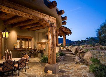 Organic Southwest - mediterranean - patio - phoenix - Urban Design Associates