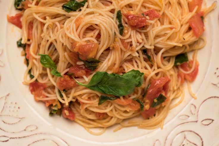 Perfect Pomodoro Sauce With Capellini