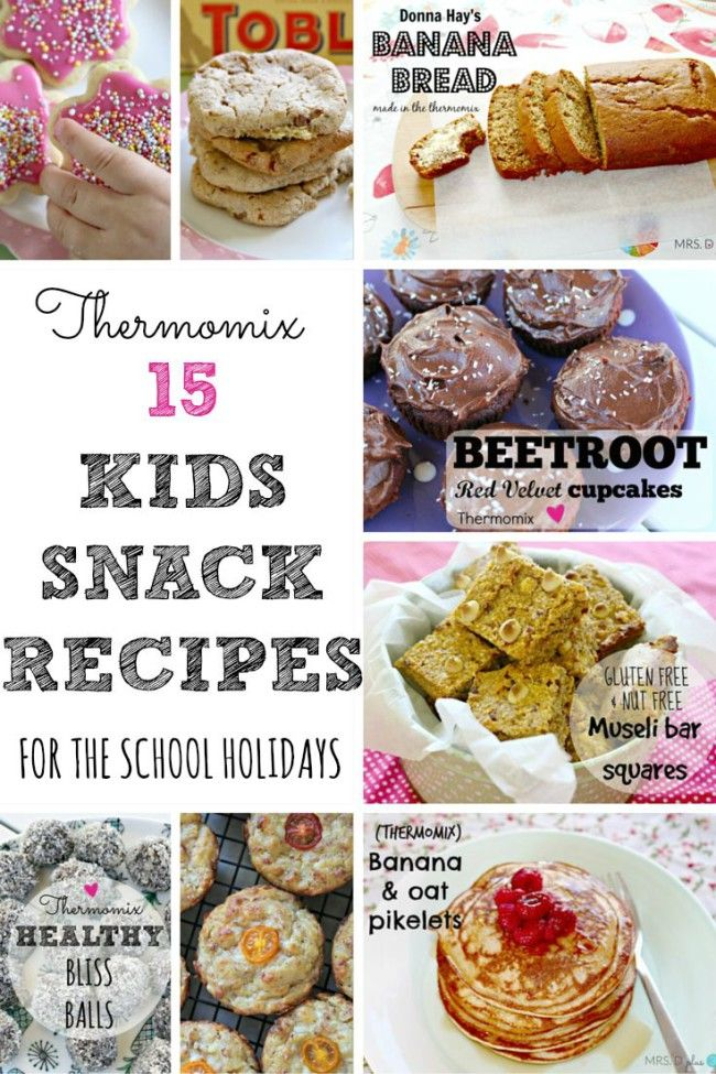 Mrs D plus 3 | School holiday snack idea for kids (using a Thermomix) | http://www.mrsdplus3.com