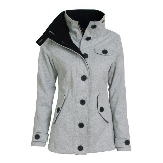 Jarní kabát dámský Woox Woolshell Ladies' Jacket - BezvaSport.cz