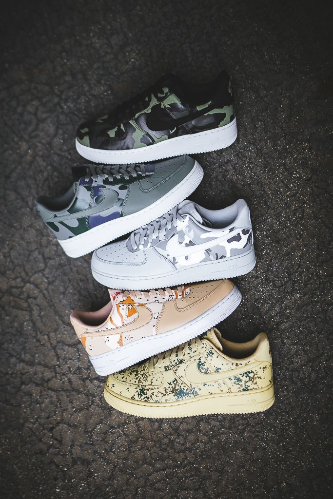 Another Look At The Nike Air Force 1 Low Country Camo Pack  953491c88