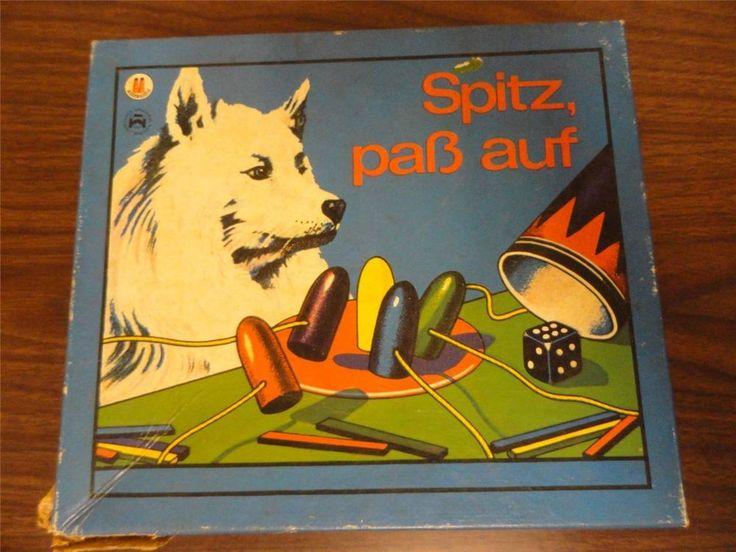 Spitz, Pass Auf Spiele-Schmidt Vintage German Children's Game