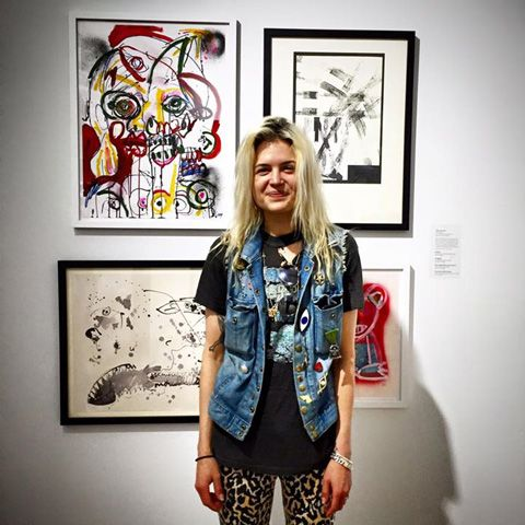 Alison Mosshart at Scope Art Show Miami 2014 (via Facebook) Alison Mosshart, queen of smirks and jaggedly soulful yells, is doing her very first solo exhibition. The lead singer for indie/blues rock giants The Kills and The Dead Weather, Alison...