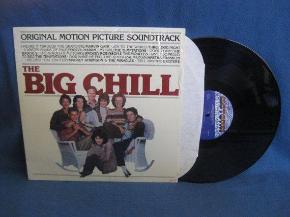 Vintage The Big Chill Original Soundtrack Vinyl by sweetleafvinyl