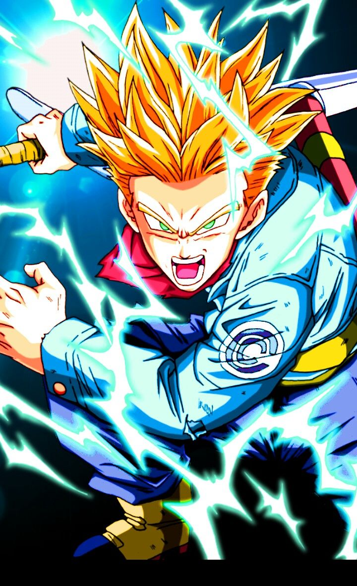 Future Trunks SSJ Rage or False SSJ Blue either or it's soooooo badasss!