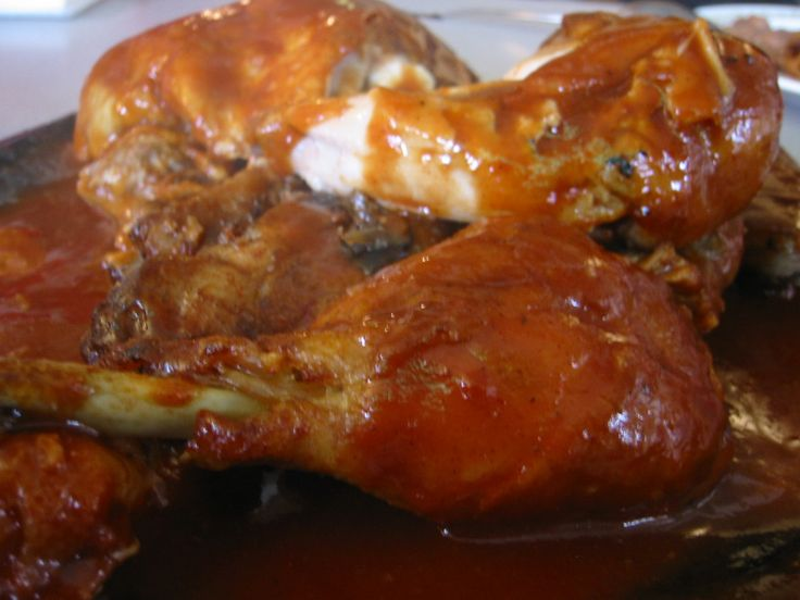 Moist Oven Baked Barbeque Chicken