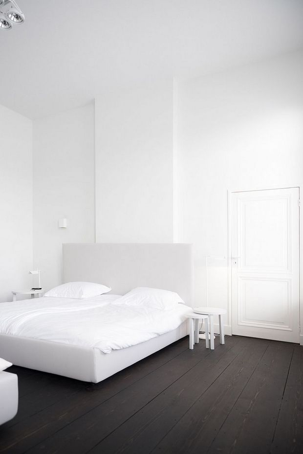 The All-White Apartment In Maastricht