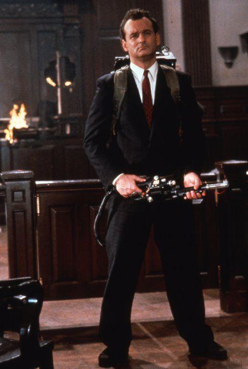 Peter Venkman (Bill Murray) Ghostbusters II (1989)