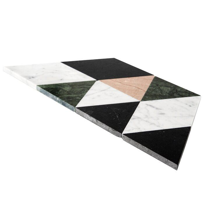 Prisma 8 X 14 Marble Mosaic Tile In 2020 Marble Mosaic Mosaic Tiles Marble Mosaic Tiles