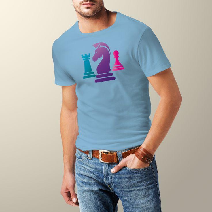 T-Shirt – Purple Chess | Premium Chess Webshop