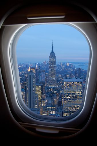 New York From Inside A Plane Pictures Of Place From