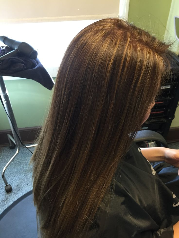 Foil highlights 6AA base color  iluminacin cabello