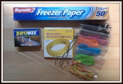 Wax Strings - DIY Bendaroo's or Wikki Stix
