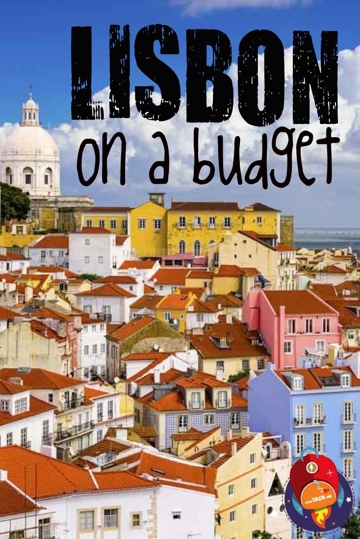 Make the most of Lisbon, even if you're on a limited budget! #PORTUGAL