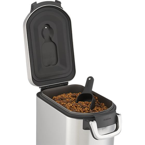 simplehuman® Pet Food Container in Food Containers, Storage | Crate and Barrel