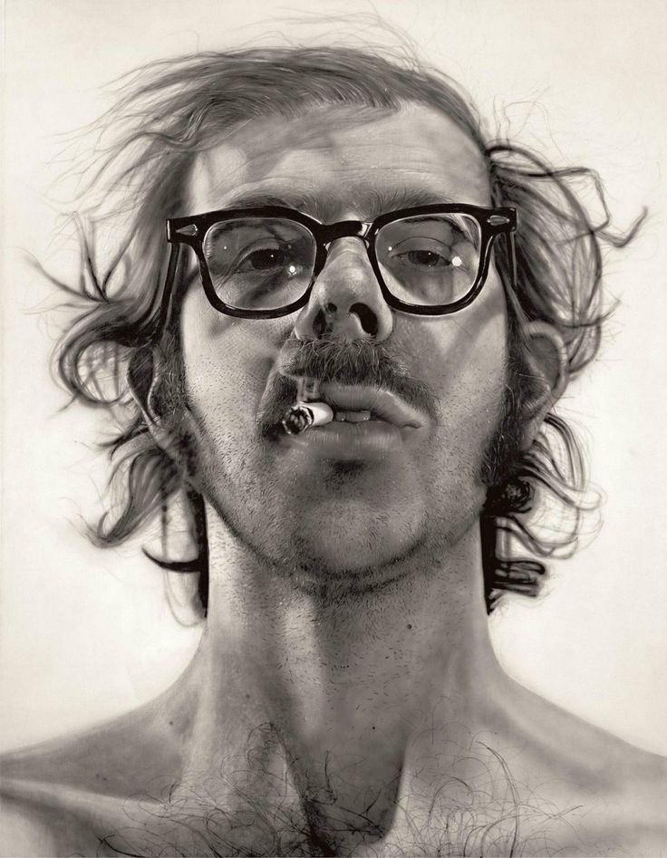 Painting / Chuck Close ...BTW,Please Check this out: http://artcaffeine.imobileappsys.com