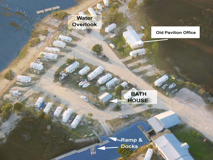 Old Pavilion Rv Park Keaton Beach Fl April 15th 19th