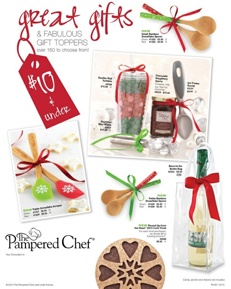 Inexpensive Christmas Gift Ideas – Under $10. 17 Best Images About Pampered  Chef Gift Ideas On Pinterest - Christmas Gift Ideas For Under $10 My Web Value