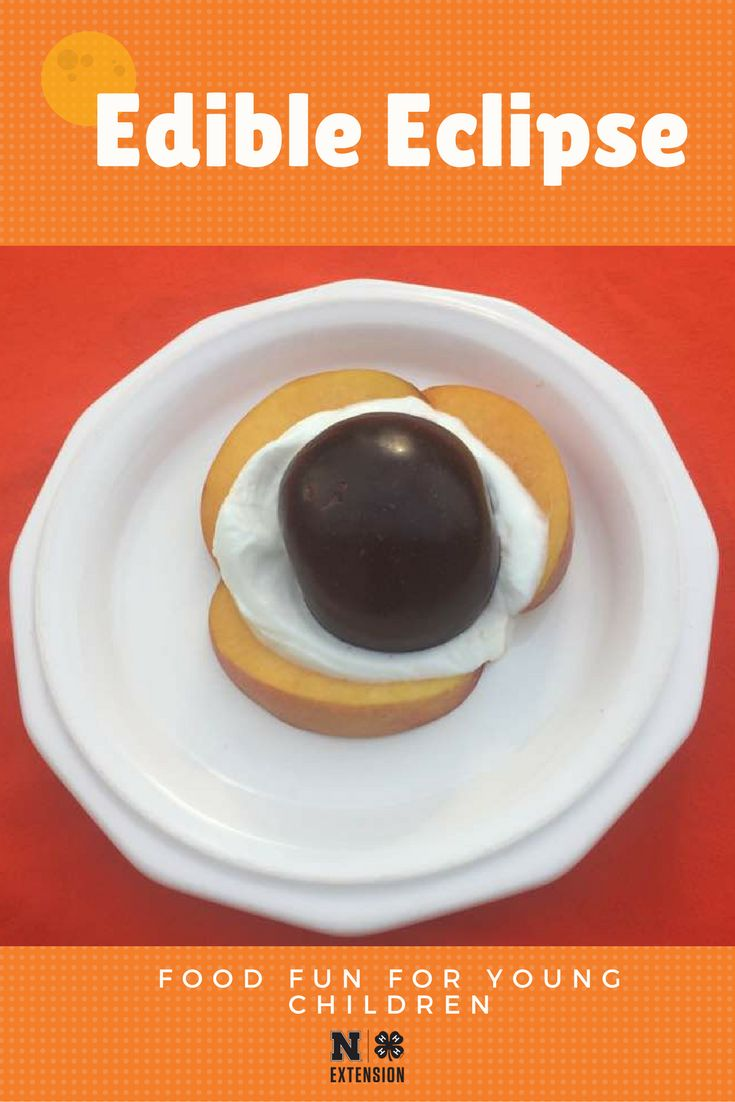 On Monday, August 21, 2017, all of North America will be treated to an eclipse of the sun. Why not make a tasty and fun snack to celebrate the day?
