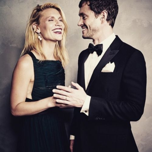 Claire Danes & Hugh Dancy (this is so adorable)