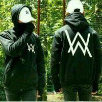 DJ A W logo black