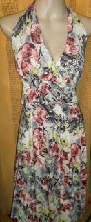 Brecho Online - Belas Roupas: Vestido Estampado Floral