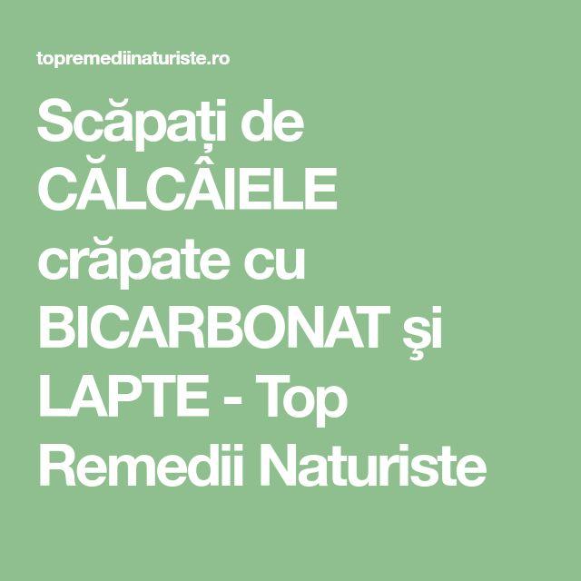 Scăpați de CĂLCÂIELE crăpate cu BICARBONAT şi LAPTE - Top Remedii Naturiste