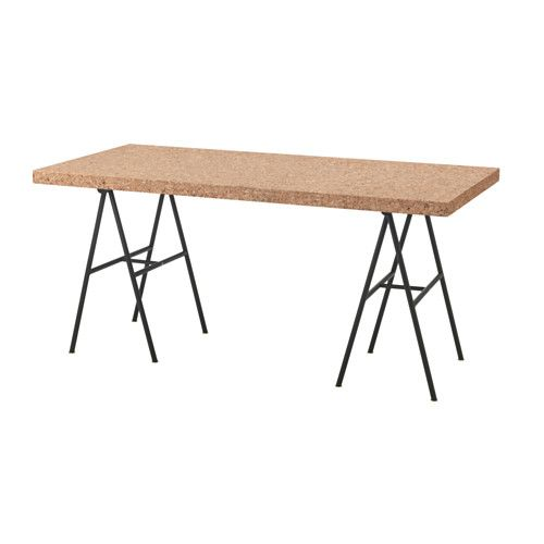 IKEA - SINNERLIG, Table This table top just lays on top of the trestles. Does anyone have an ideas on how to secure it so it doesn't move around?