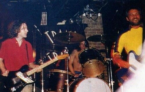 Eddie, Dave Grohl and Mike Watt