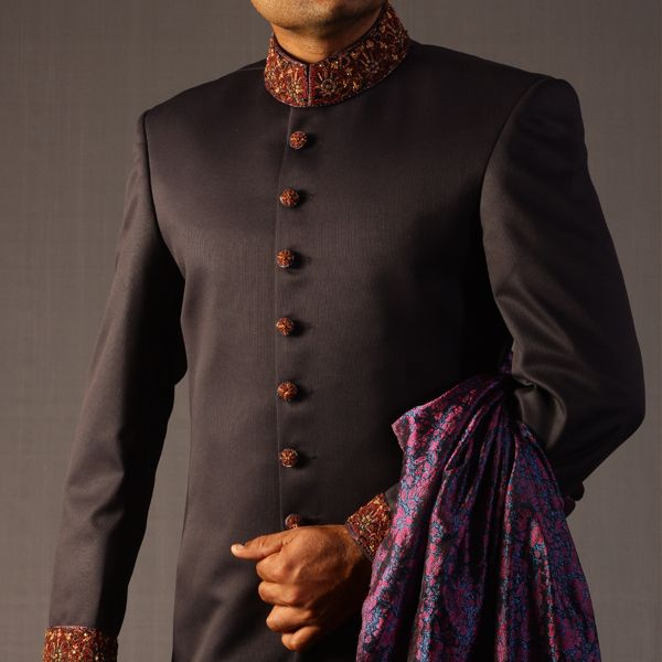 Traditional Sherwani in Blue