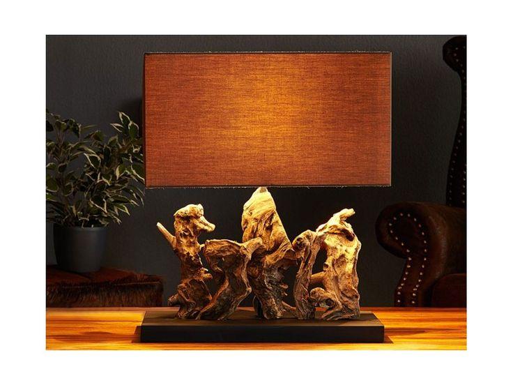 Lampa Stołowa Aragon — Lampy stołowe Invicta Interior — sfmeble.pl  #wood  #natural  #homedesign