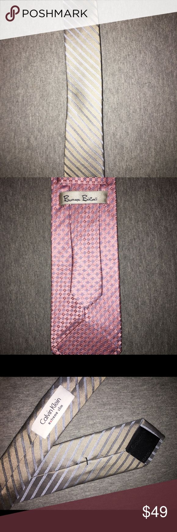 2 ties Calvin Klein slim and Ben Sherman NWOT both are Perfect and included in price Ben Sherman Other