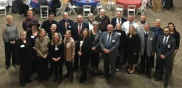 The graduation of the Medina County Local Government Leadership class saw more 50 people in attendance despite inclement weather April 6.