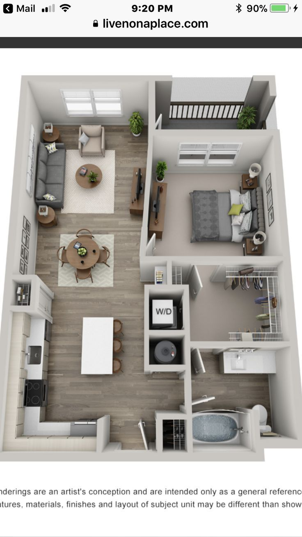 1 Bedroom Apartment Layout Sims House Plans Studio Apartment Floor Plans