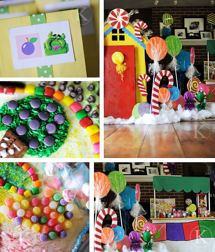 260 Best Images About Candy Land Birthday Party Idea's~ On