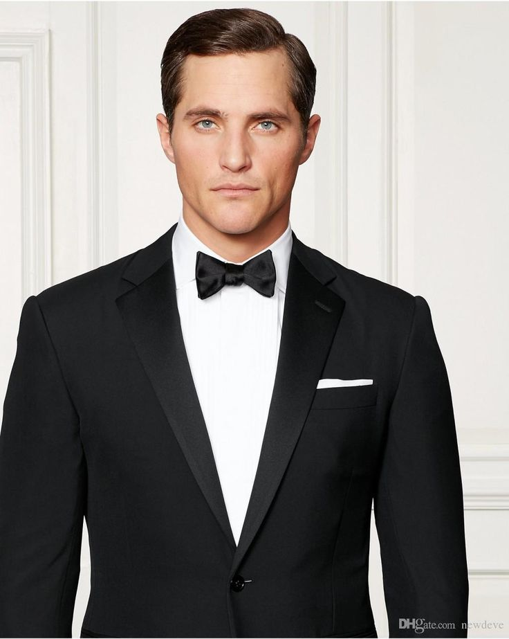 2016 Slim Fit Groom Tuxedos Custom Made Black Men Business Suit High Quality Two Pieces Wedding Suits Mens Dinner Jackets Mens Dress Style From Newdeve, $69.65  Dhgate.Com