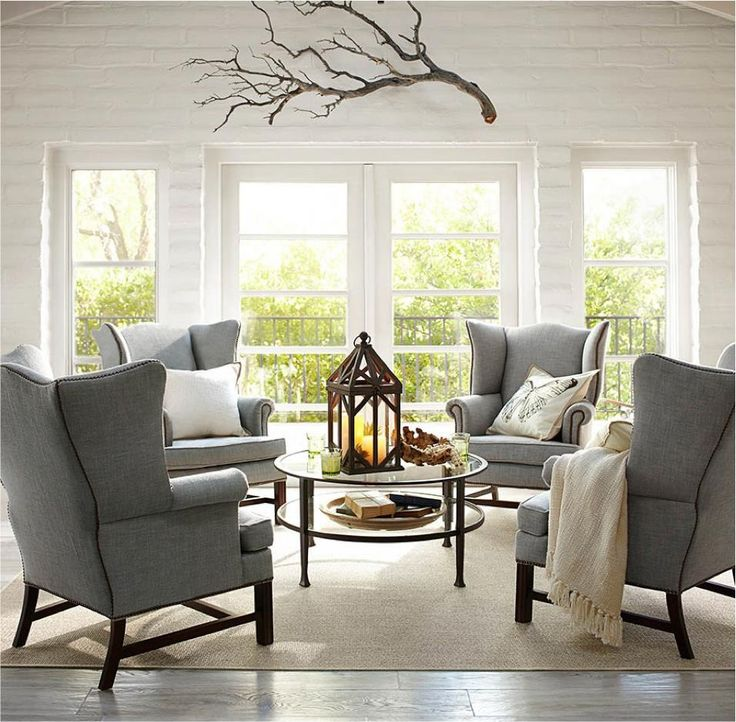 Pottery Barn living room, simple yet classy!