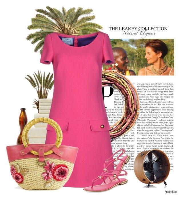 Amari bracelet by lailah37 on Polyvore featuring moda, Prada, Michael Kors, Miu Miu and leakeycollection