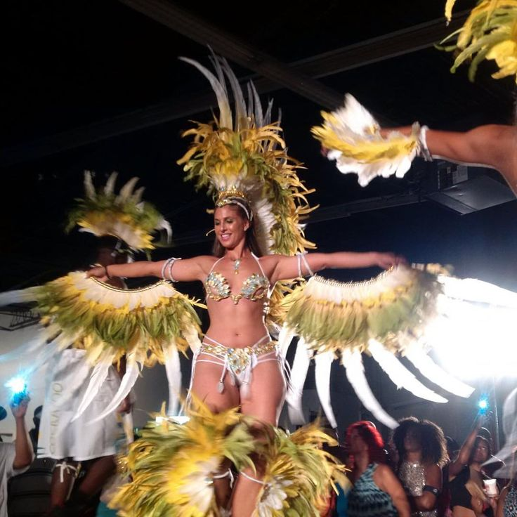 """Carnival Nationz on Instagram: """"Who Ready For Miami Carnival ☀️ Last Night We Unveiled Our Miami Section COCKATOO  Look Out For Us On The Road With The Big Band Euphoria Mas .... When We Touch Down Miami Shell Down  #Miami #MiamiCarnival #CNz #CarnivalNationz #EuphoriaMas #GetInYuhSection #Toronto #TeamNationz #TorontoToMiami"""""""