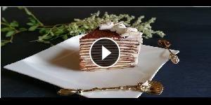 Torta di crepes, nutella e mascarpone - La video ricetta