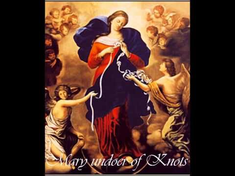 Mary undoer of knots: prayer of Pope Francis (+playlist)