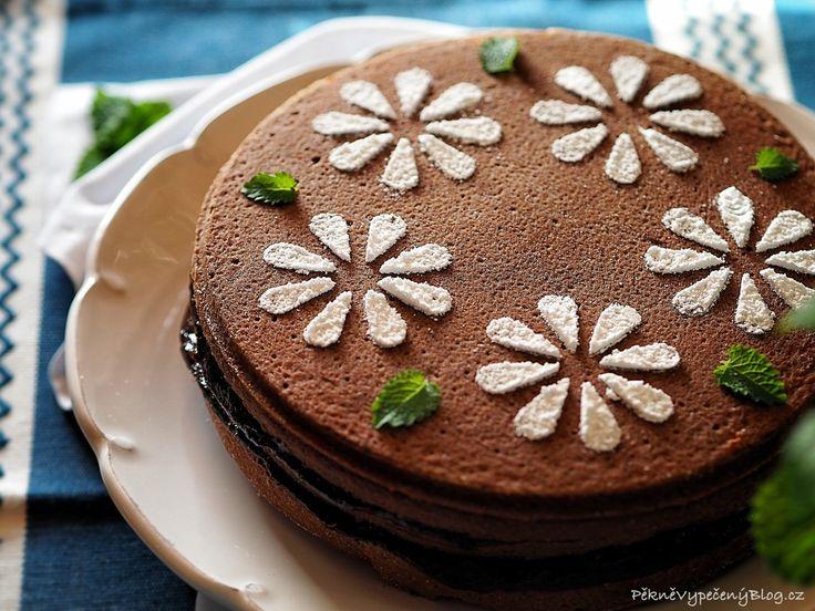 Povidlový dort