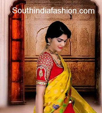 Stunning bridal saree blouses designed by Kavitha Gutta and Leela Gutta of golden threads boutique. Address: Road no 45 Jubilee hills Hyderabad, Andhra Pradesh 500033 Phone 011-91-9848819447 , 001-248-766-8662 Email dhanya@goldenthreads.co Related PostsLovely Kids Lehengas by Golden ThreadsBridal Saree and Blouse by Golden ThreadsMesmerizing South Indian Bridal OutfitDesigner Boutique Launch, Hyderabad