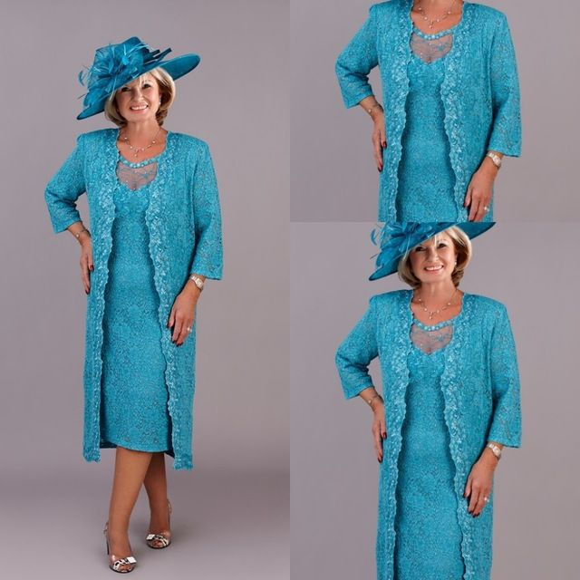 Spring 2015 Tea Length Mother Of The Bride Lace Dresses Blue Sheer Neck Three Quarter Sleeves Groom Mother Wedding Outfits US $125.99  Specifics Item TypeMother of the Bride Dresses DecorationLace is_customizedYes Sleeve StyleWith Jacket Brand NameASA Fabric TypeSatin Dresses LengthAnkle-Length SilhouetteA-Line Built-in BraYes Actual ImagesNo Sleeve LengthThree Quarter Model Number2015 mother of the bride dresses  Click link to buy other product http://goo.gl/p8JMyk