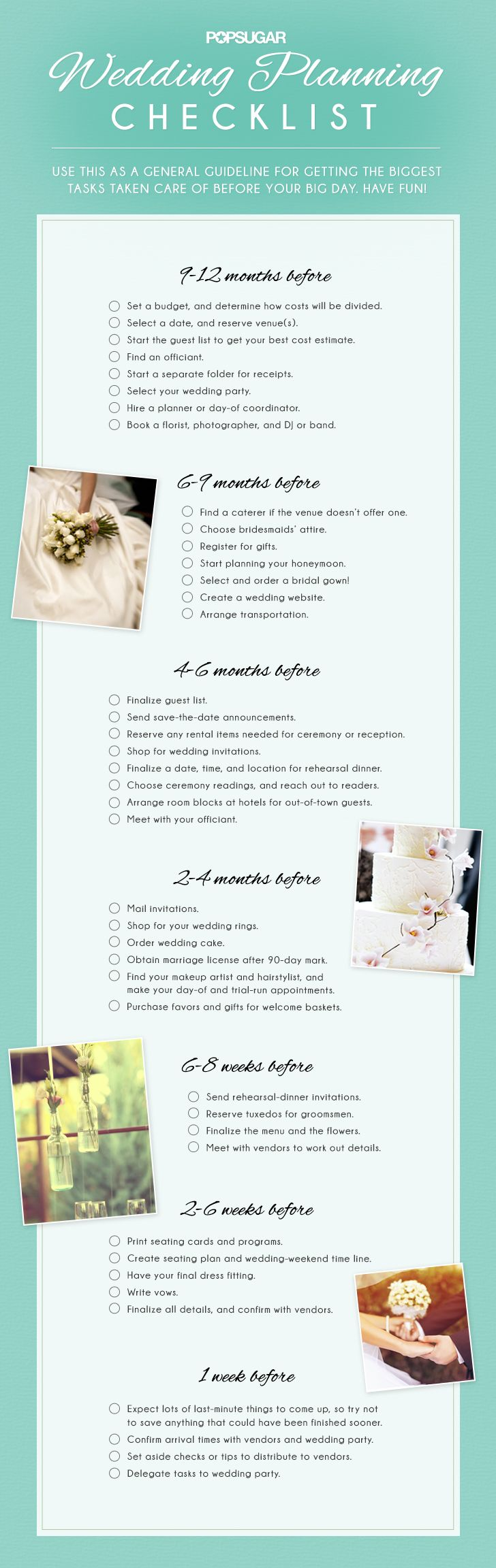 Download the Ultimate Wedding Planning Checklist! #wedding #planning