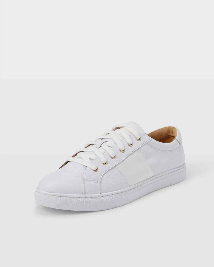 ECCO | Soft 7 Leather Perforated Sneaker | Nordstrom Rack