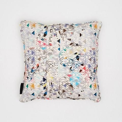 Bauhaus Cushion by Kitty McCall - Made Modern #interiordesign #home #house #housestyling #decor #decorideas #moderndesign #modern #homeinspiration #homedecor #interiors #interior #interiorstyling #kittymccall #cushion #accessories #homeaccessories #textile #textiledesign