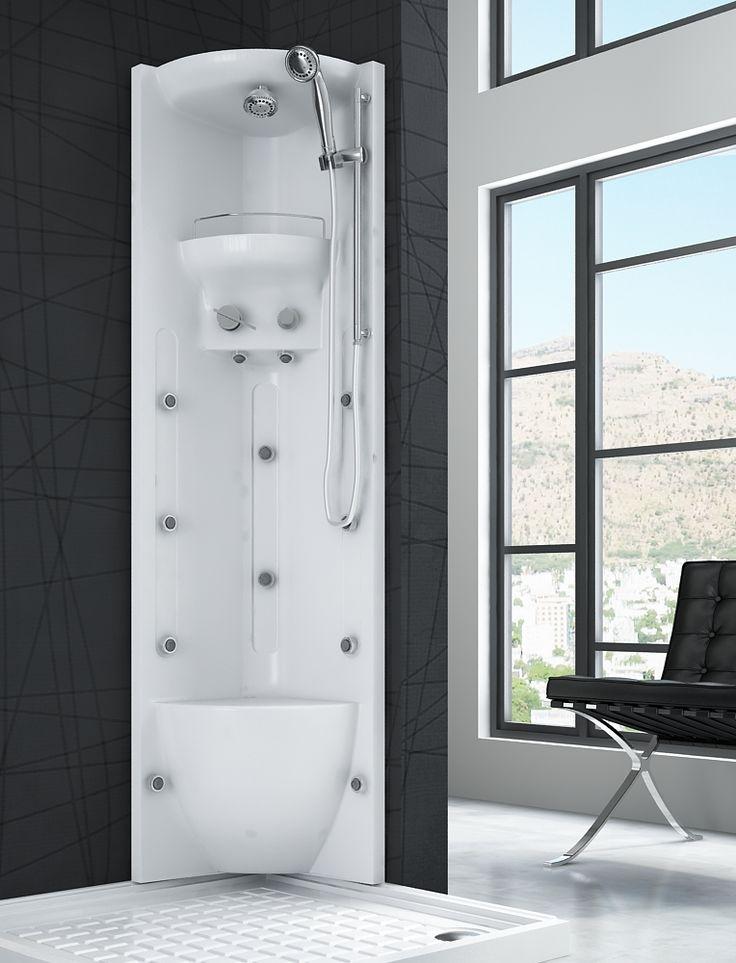 Las 25 mejores ideas sobre columna de hidromasaje en for Columna ducha barata