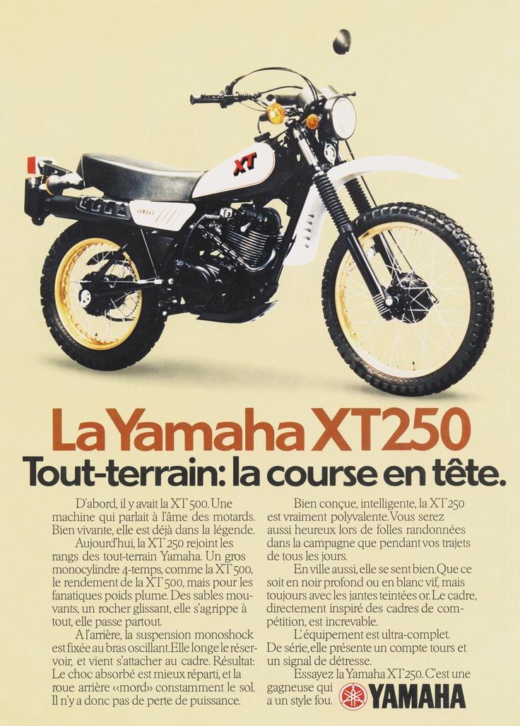 - XT250 (1980) -  http://www.yamaha-community.fr/xt250-1980