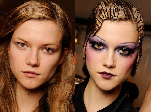 Possible makeup look for Halloween Murder Mystery Party!!!  Can't wait!!!